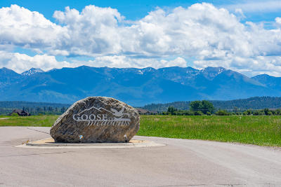Flathead County Residential Lots & Land For Sale: 136 Goose Lane