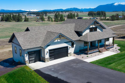 Kalispell Single Family Home Under Contract Taking Back-Up : 746 Harvest View Lane