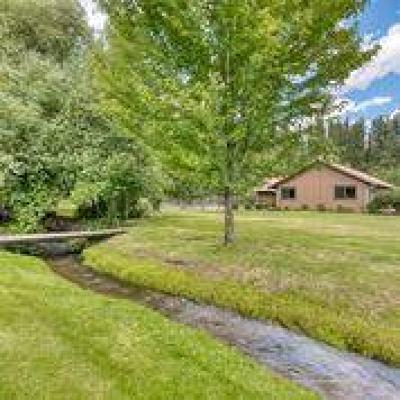 Darby Single Family Home For Sale: 210 Bunkhouse Road