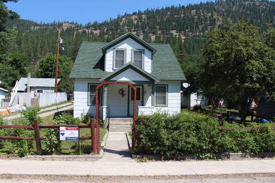 Mineral County Single Family Home For Sale: 142 Railroad Street