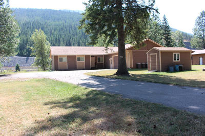Lincoln County Single Family Home For Sale: 6727 Kootenai River Road