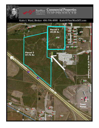Missoula County Residential Lots & Land Under Contract Taking Back-Up : 10013 Waldo Williams Road