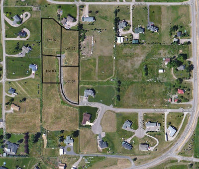 Polson Residential Lots & Land For Sale: Lot 02 Lakeview Estates Addition #3