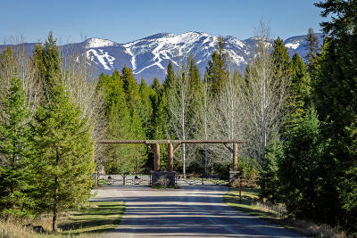 Whitefish Residential Lots & Land For Sale: 1851 Whitefish Ranch Road