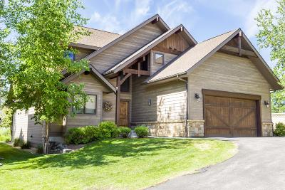 Whitefish Single Family Home For Sale: 3 Rock Creek Court