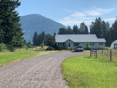 Columbia Falls Single Family Home For Sale: 7240 Us Highway 2 East