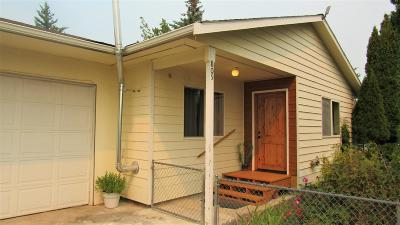 Flathead County Single Family Home Under Contract Taking Back-Up : 805 13th Street West