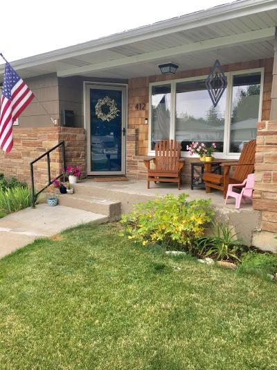 Conrad Single Family Home Under Contract with Bump Claus: 412 South Iowa Street