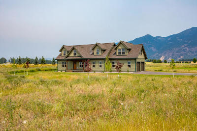 Flathead County Single Family Home For Sale: 756 Sweetgrass Ranch Road