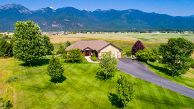 Kalispell Single Family Home Under Contract Taking Back-Up : 117 Pheasant Dale Way