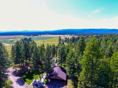 Whitefish Single Family Home For Sale: 1085 K M Ranch Road