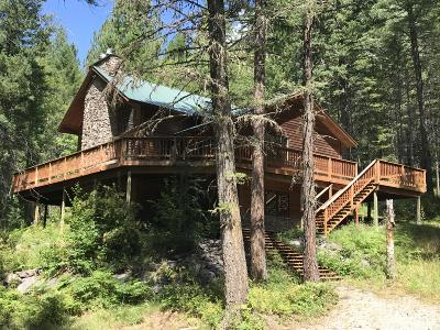 Bigfork Single Family Home For Sale: 1065 Bear Creek Road