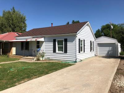 Shelby MT Single Family Home For Sale: $77,000