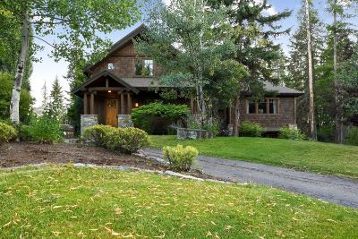 Whitefish Single Family Home Under Contract Taking Back-Up : 1014 Creek View Drive