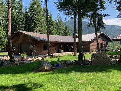 Sanders County Single Family Home For Sale: 2 Bull River Bay Estates