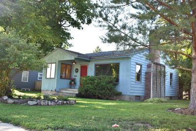 Missoula MT Single Family Home Under Contract Taking Back-Up : $299,500