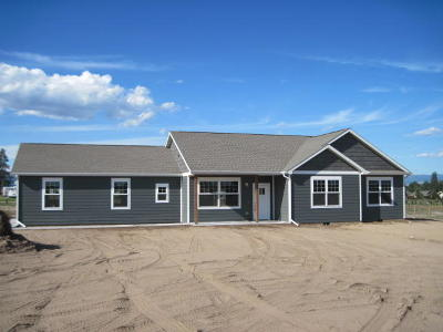 Ravalli County Single Family Home For Sale: 3974 Peak View Drive