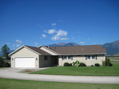 Ravalli County Single Family Home Under Contract Taking Back-Up : 379 Beartooth Drive
