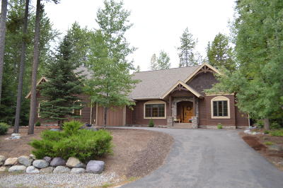 Whitefish Single Family Home For Sale: 2010 Mountain Park Loop