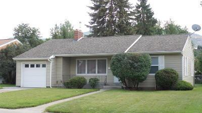 Missoula MT Single Family Home For Sale: $325,000