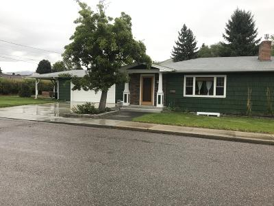 Missoula MT Single Family Home Under Contract Taking Back-Up : $405,000