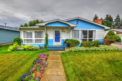 Missoula MT Single Family Home Under Contract Taking Back-Up : $241,500