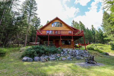 Kila, Marion Single Family Home For Sale: 296 Log Cabin Lane