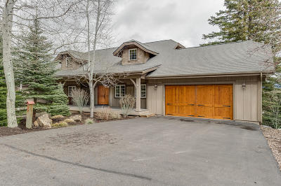 Whitefish Single Family Home For Sale: 99 Mountainside Drive
