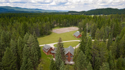 Whitefish Single Family Home For Sale: 220 Twin Bridges Road