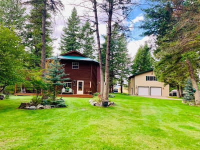 Columbia Falls Single Family Home For Sale: 1010 Kelley Road