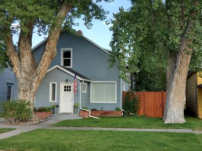 Fort Benton Single Family Home Under Contract Taking Back-Up : 1216 Washington Street