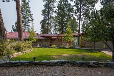 Flathead County Single Family Home For Sale: Hughes Bay Road