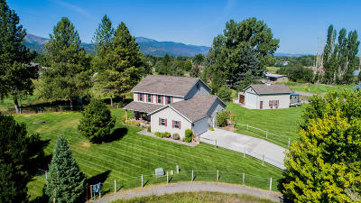 Missoula Single Family Home Under Contract Taking Back-Up : 1336 Cheleq Court