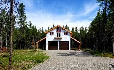 West Glacier, Polebridge Single Family Home For Sale: 1115 Belton Stage