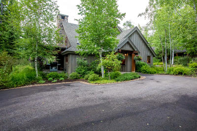 Whitefish Single Family Home For Sale: 2116 Iron Horse Drive