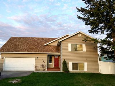 Kalispell Single Family Home Under Contract Taking Back-Up : 117 North Cedar Drive