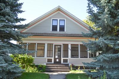 Cascade Single Family Home For Sale: 216 Central Avenue West