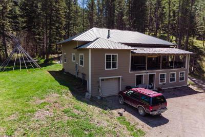 Missoula Single Family Home For Sale: 10780 Grant Creek Road