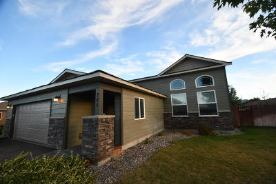 Kalispell Single Family Home Under Contract Taking Back-Up : 385 Triple Creek Drive
