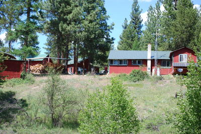 Sanders County Single Family Home For Sale: 15 Forty-Niner Lane