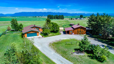 Kalispell Single Family Home Under Contract Taking Back-Up : 145 West Valley Acres
