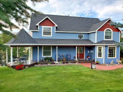 Missoula Single Family Home For Sale: 11665 Pole Cat Road