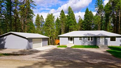 Flathead County Single Family Home For Sale: 273 Hare Trail