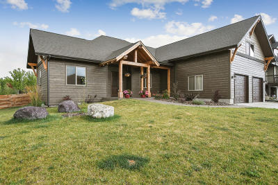 Whitefish Single Family Home Under Contract Taking Back-Up : 206 Vista Drive