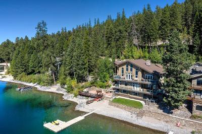 Whitefish Single Family Home For Sale: 3638 East Lakeshore Drive