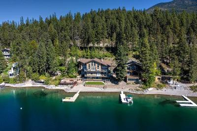 Whitefish Single Family Home For Sale: 3632 East Lakeshore Drive