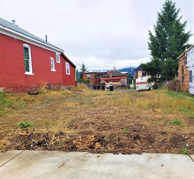 Butte Residential Lots & Land For Sale: 658 South Colorado Street