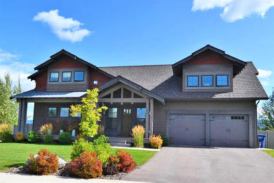 Whitefish Single Family Home For Sale: 133 Vista Drive