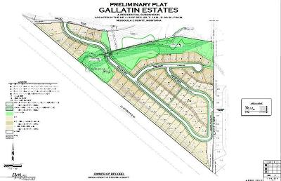 Missoula Residential Lots & Land For Sale: Gallatin Estates, Waldo Road