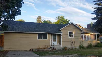 Sanders County Single Family Home For Sale: 601 Central Avenue